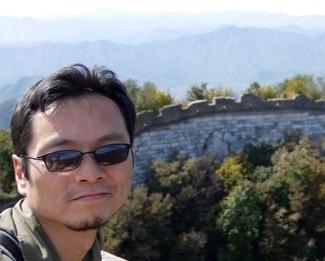 Wayne at the Great Wall of China